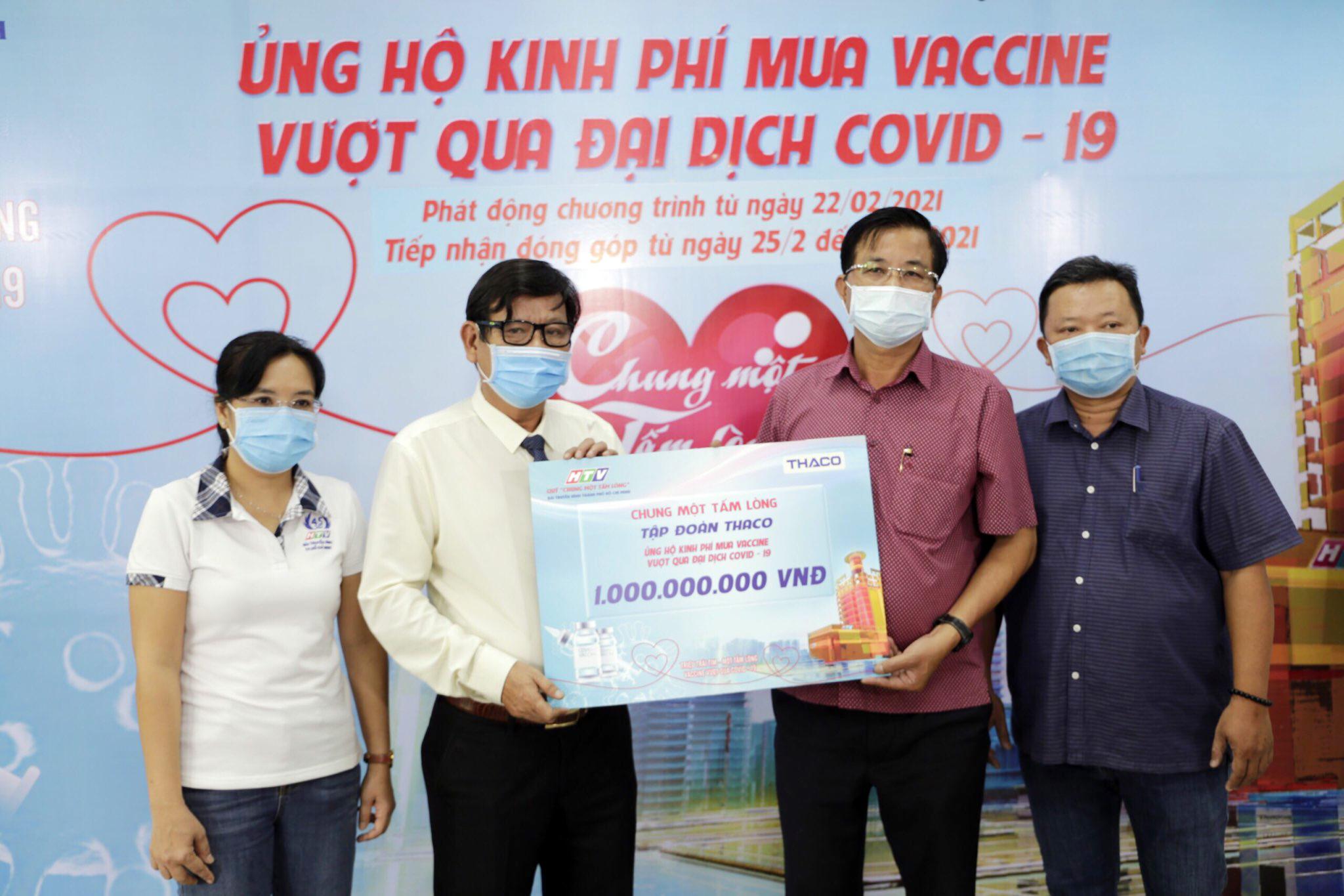 Quỹ `Chung một tấm lòng` - THACO ủng hộ 1 tỷ đồng