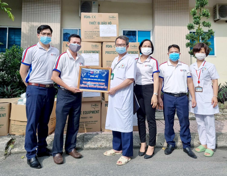 SCB chia lửa cùng Bắc Ninh, Bắc Giang